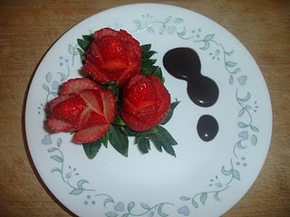 Strawberry Carving Ideas